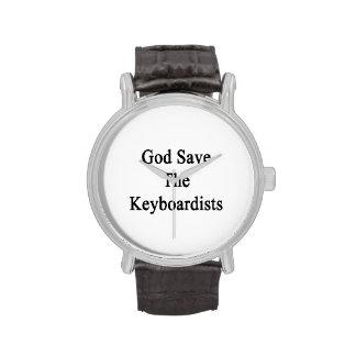 Reserva de dios los teclistas relojes
