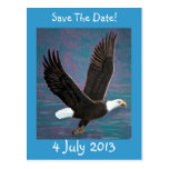 Reserva de Eagle la postal de la fecha