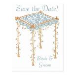 Reserva de encargo del toldo del boda judío del postales