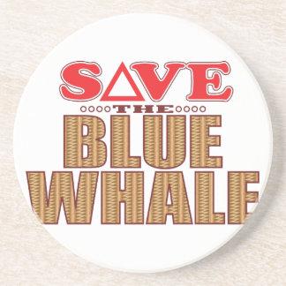 Reserva de la ballena azul posavasos cerveza