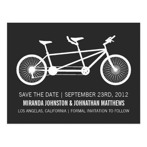 Reserva de la bicicleta las postales de la fecha