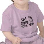 Reserva de la camiseta el drama para su mamá