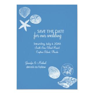 Reserva de la colección del Seashell la invitación