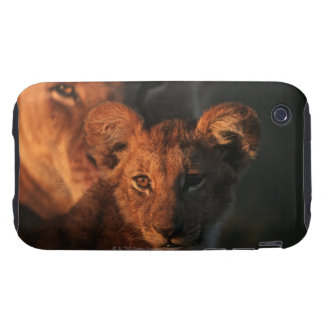 Reserva de la fauna de Moremi Botswana 2 Tough iPhone 3 Cárcasas