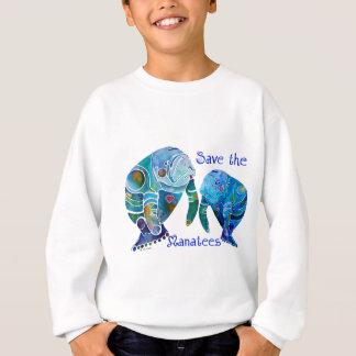 Reserva de la Florida los Manatees en azules vivos Polera