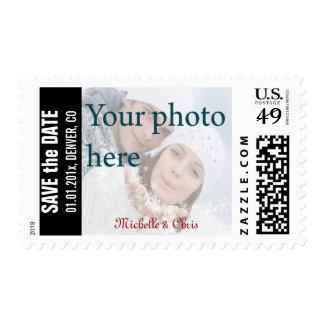 Reserva de la foto de DIY los sellos de fecha