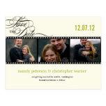 Reserva de la foto de la tira de la película la fe tarjetas postales