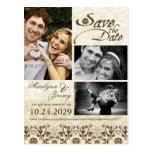 reserva de la foto del café del cordón del damasco tarjetas postales