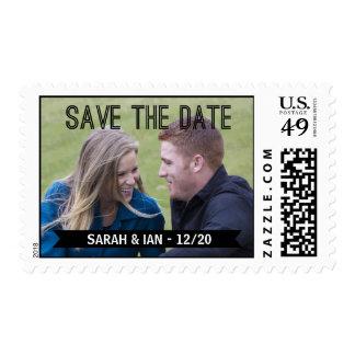 Reserva de la foto la fecha sellos