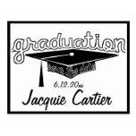Reserva de la graduación la tarjeta de fecha tarjetas postales