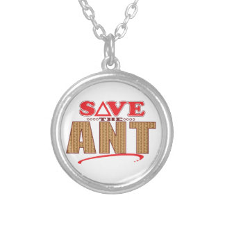 Reserva de la hormiga collar plateado