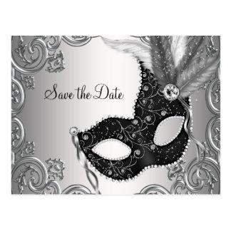 Reserva de la mascarada la fecha postal