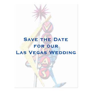 Reserva de la muestra de Las Vegas del vintage la Tarjeta Postal