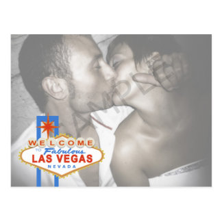 Reserva de la muestra de Las Vegas la postal de la