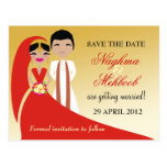 Reserva de la novia y del novio de 311 indios la postal