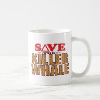 Reserva de la orca taza de café