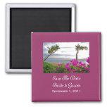 Reserva de la playa de Maui el imán de la fecha