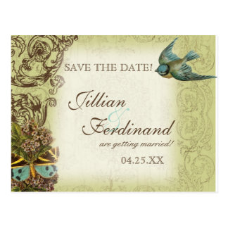 Reserva de la postal del boda de Botanica la fecha