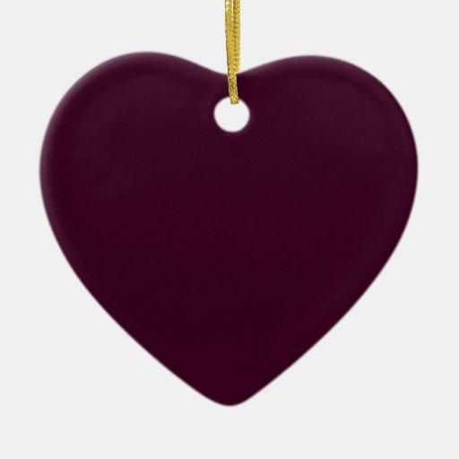 Reserva de la púrpura del ciruelo de Toledo el Ornamento De Navidad