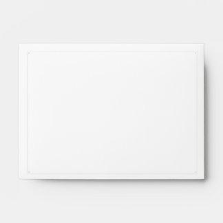 Reserva de la simplicidad los sobres de la fecha A