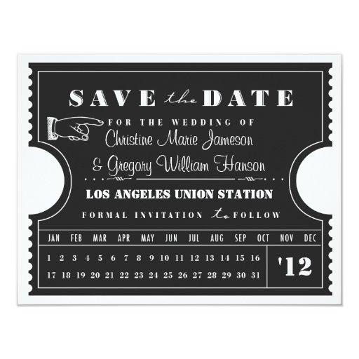 Reserva de la tarjeta de sacador del boleto la invitacion personalizada
