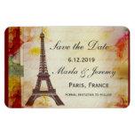 Reserva de la torre Eiffel la fecha Imán