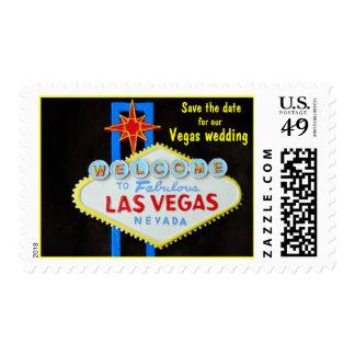 Reserva de Las Vegas el boda de la fecha Sellos