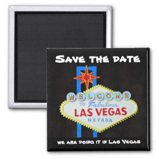 Reserva de Las Vegas la fecha Imán De Nevera
