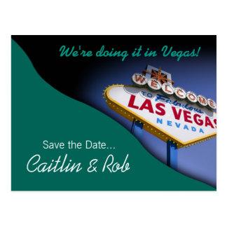 Reserva de Las Vegas la fecha (trullo) Postal