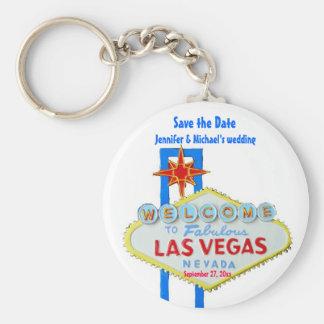 Reserva de Las Vegas la ocasión modificada para re Llavero Redondo Tipo Pin