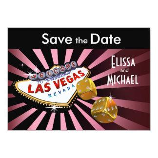 Reserva de Las Vegas Starburst el oro del negro Invitación 11,4 X 15,8 Cm