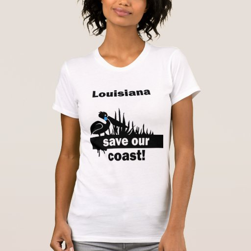 Reserva de Luisiana nuestra costa Camiseta