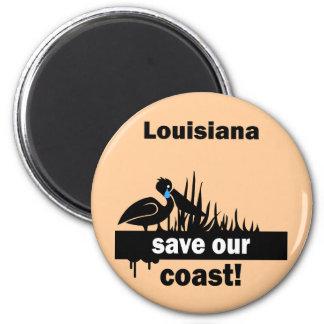 Reserva de Luisiana nuestra costa Imán Redondo 5 Cm