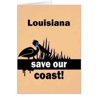 Reserva de Luisiana nuestra costa Felicitacion
