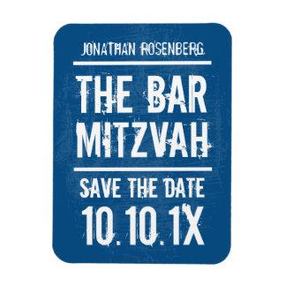 Reserva de Mitzvah de la barra de la banda de rock Rectangle Magnet