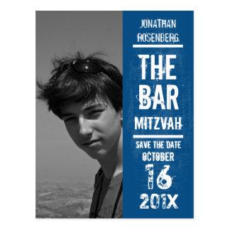 Reserva de Mitzvah de la barra de la banda de rock Tarjetas Postales
