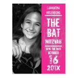 Reserva de Mitzvah del palo de la banda de rock la Tarjeta Postal