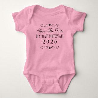 Reserva de Mitzvah del palo el bebé de la fecha Body Para Bebé