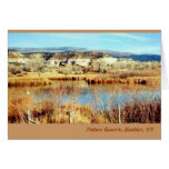 Reserva de naturaleza, Boulder, UT Tarjeta Pequeña