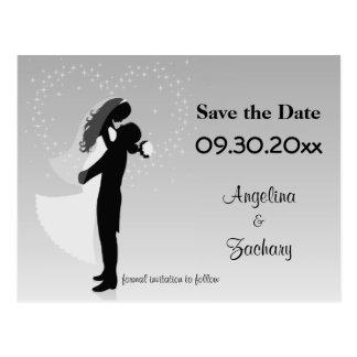 Reserva de plata de Ombre la postal del boda de la