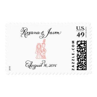 Reserva de Roxy el sello de fecha