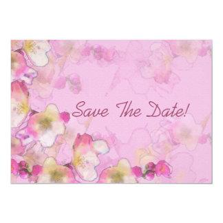 """Reserva de Sakura la fecha Invitación 5"""" X 7"""""""
