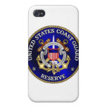 Reserva de USCG iPhone 4/4S Fundas