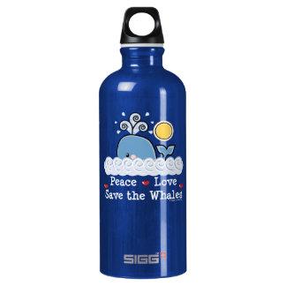 Reserva del amor de la paz que las ballenas BPA