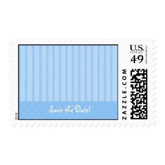 Reserva del azul el franqueo de la fecha - persona sellos postales