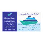 Reserva del barco de cruceros las tarjetas de la f tarjeta personal