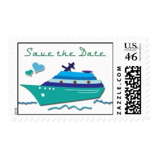 Reserva del barco de cruceros los sellos de fecha