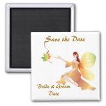 Reserva del boda de la caída el imán de la fecha