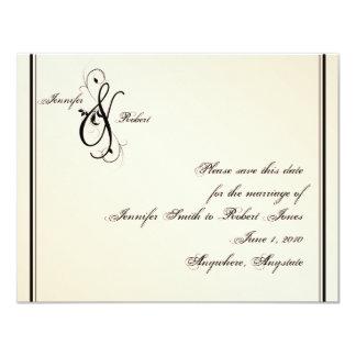 Reserva del boda de la elegancia de la cáscara de
