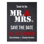 Reserva del boda de la tipografía de Sr. y de seño